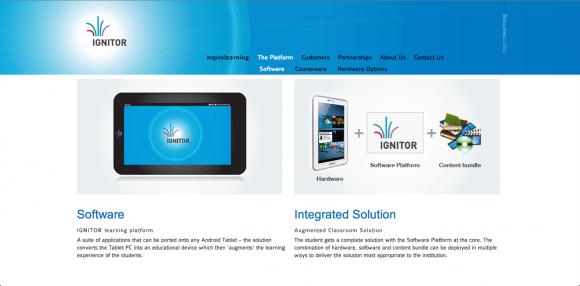 Ignitor Mobile Learning Platform