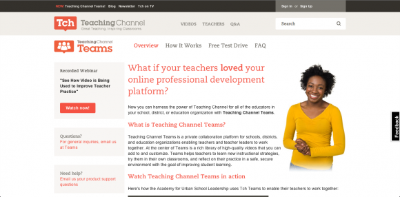 Teaching Channel Teams