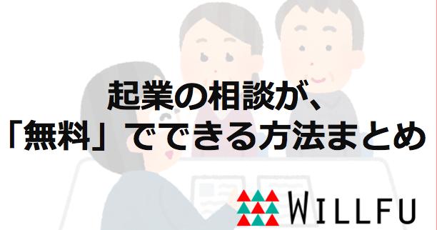 起業の相談_ウィルフ